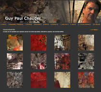 Guy Paul Chauder, artiste peintre corse